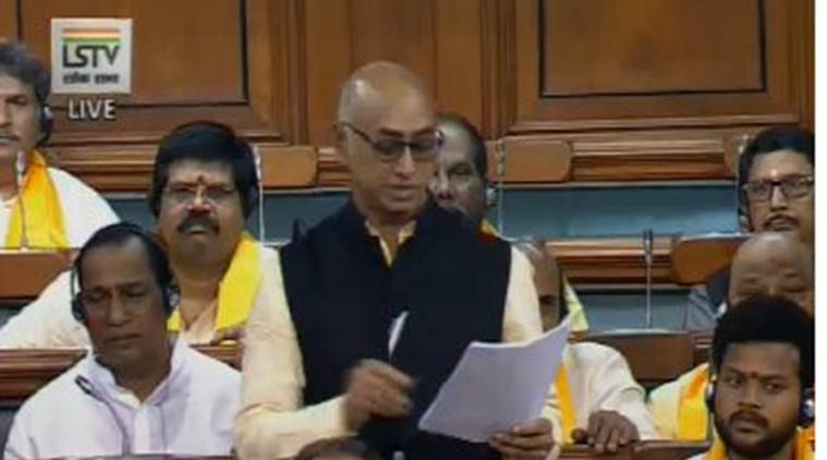 Who is TDP MP Jayadev Galla?