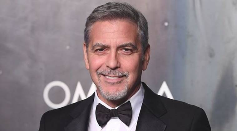 george clooney injured
