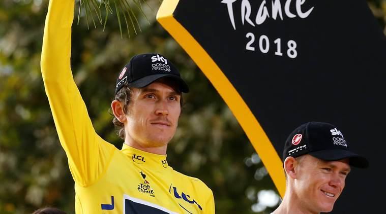 Geraint Thomas, Tour de France, Geraint Thomas France