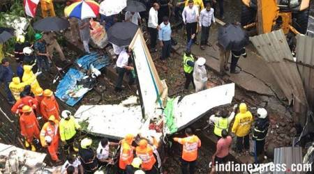 Ghatkopar plane crash: Her jewellery was stolen in hospital, says co-pilot's husband