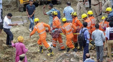 Ghaziabad building collapse: Hours earlier, family had spotted cracks