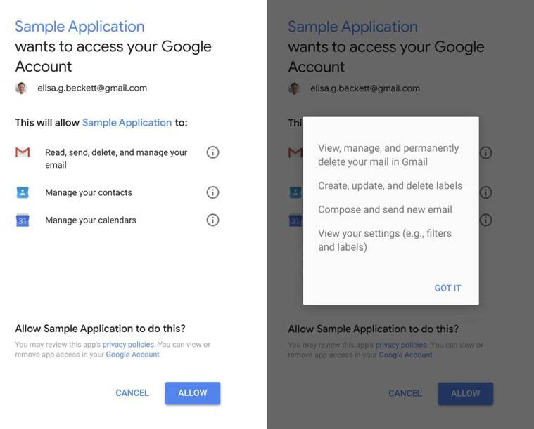 Gmail, Google, Gmail app, Gmail messages, Gmail third-parties, Gmail apps, Google Gmail read, Google reads Gmail, Gmail security, Gmail third-party apps