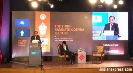 Full Text: Justice Ranjan Gogoi delivers the third Ramnath Goenka Memorial Lecture — The Vision of Justice