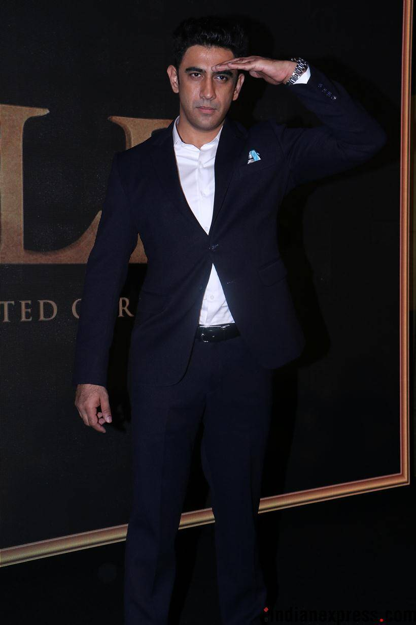 amit sadh in gold song launch event