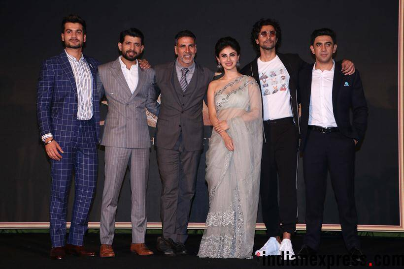 gold song launch event with the whole cast