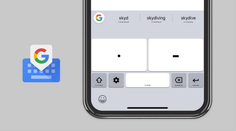 Google, Gboard, Morse Code, Gboard Morse Code, Typing in morse code, Gboard iOS, iOS, Apple, iPhone, Apple iPhone, App Store, iPhone Gboard, iOS Gboard