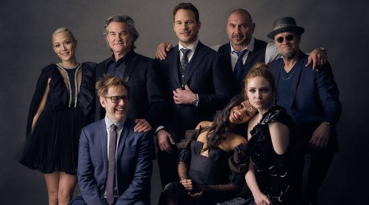 Image result for guardians of the galaxy cast