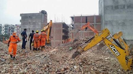 After Shahberi collapse: 114 illegal buildings in Noida to be razed