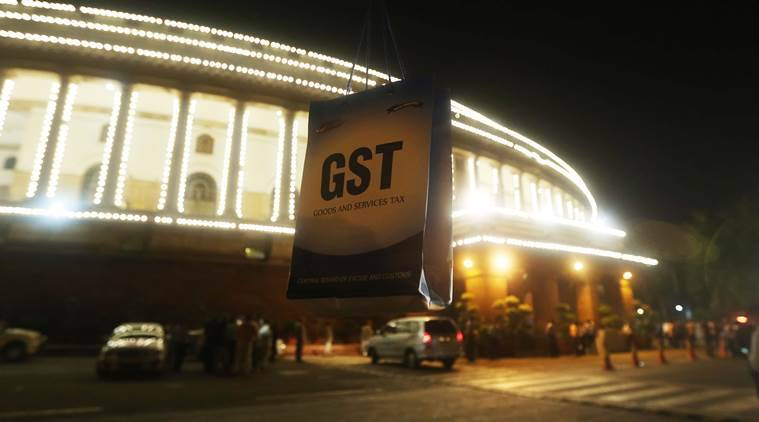 GST was launched on the midnight of June 30, 2017, in the Parliament (Express photo by Prem Nath Pandey)