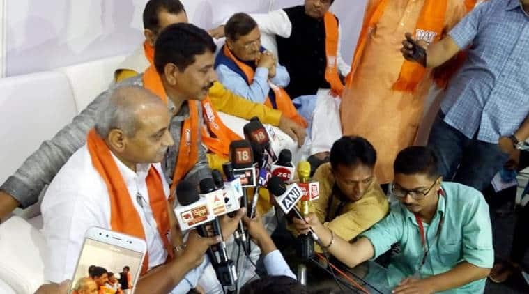 Shankersinh Vaghela's son Mahendrasinh joins BJP