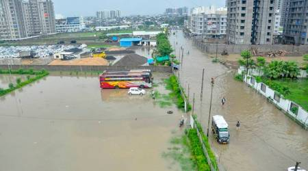 Torrential rain hits coastal Saurashtra, scores of villages flooded