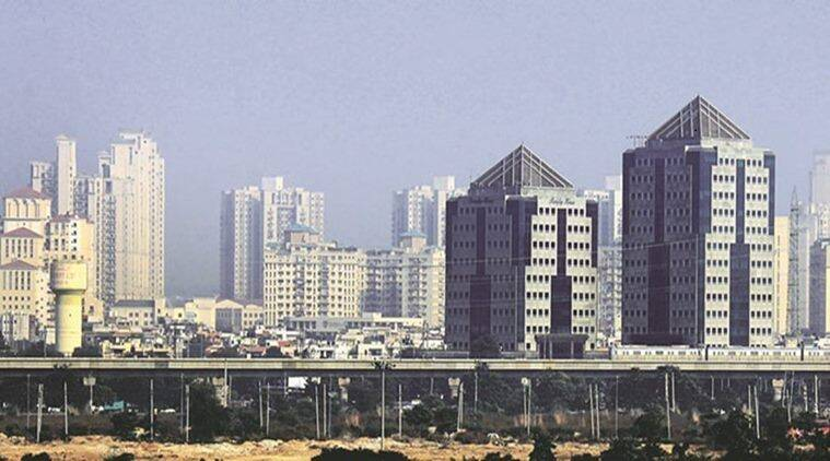 Gurgaon cityscape: Urban migration may be a solution rather than a problem. (Express photo/Manoj Kumar)