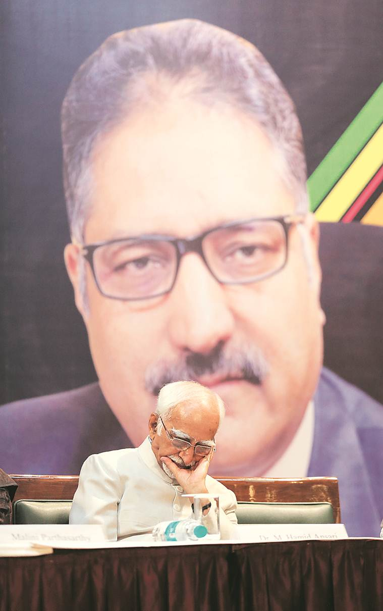 Shujaat Bukhari killing: Must think why a thinking citizen was snatched away, says Hamid Ansari