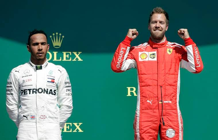 Lewis Hamilton questions Ferrari 'tactics' after British GP