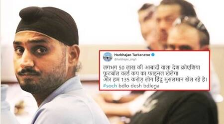 Harbhajan Singh's tweet on Hindu-Muslim mistrust comes under scanner