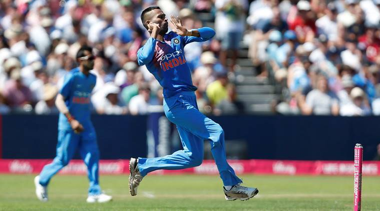 Pandya took 4 wickets in the game. (Getty)
