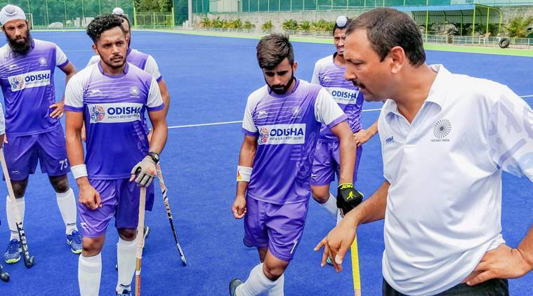 Hockey India, Hockey India news, Hockey India updates, Harendra Singh, Harendra Singh news, Harendra Singh updates, sports news, hockey, Indian Express