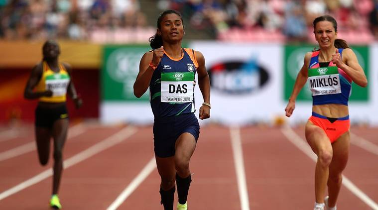 'Thank you for the happiness' Twitter rejoices as Hima Das becomes first Indian to win Gold at U-20 World Championship