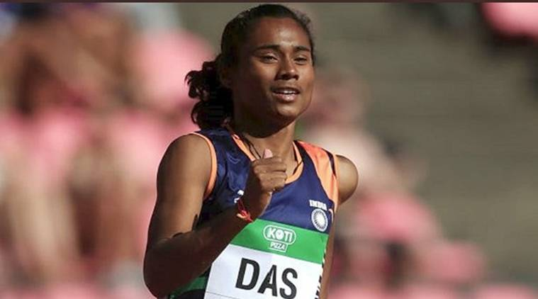 Hima Das scripts history, first Indian woman to win gold at Athletics Junior World Championships