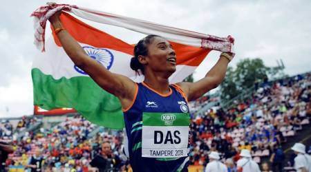 hima das, hima das caste, hima das gold, hima das India gold, Hima Das athletics, who is Hima Das, Hima Das sprinting, sprinter career, health benefits of sprinting