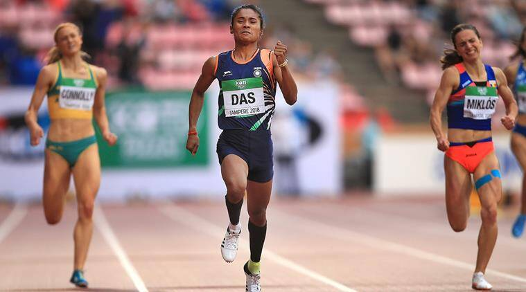 It's been like a dream so far, says Hima Das