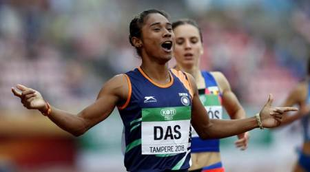 Watch: 18-year-old Hima Das's incredible burst to win 400 m final at World U20 Championships