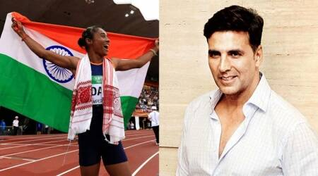 Akshay Kumar, Big B congratulate Hima Das for winning gold at IAAF World U20 Championships