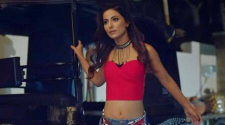 Hina Khan's music video Bhasoodi will make you cringe