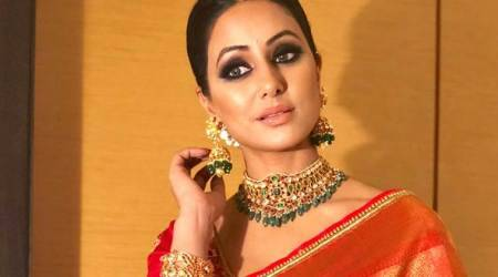 Hina Khan jewelery brand notice