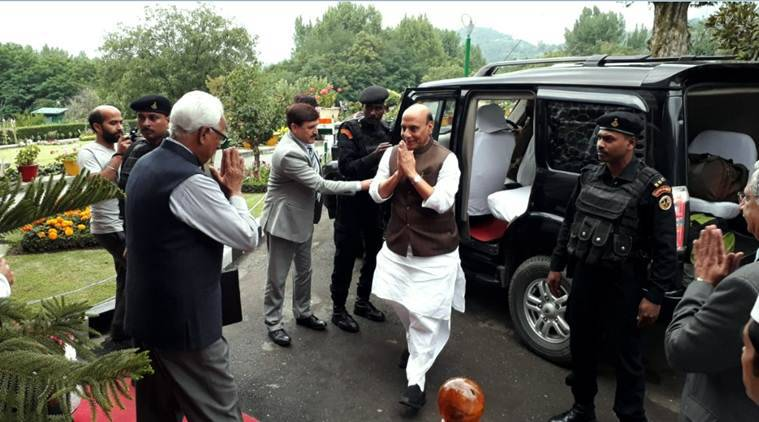 Peace, stability can be brought to JK through honest administration: Rajnath Singh