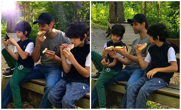 Hrithik Roshan and sons
