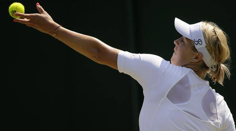 Simona Halep, Simona Halep Wimbledon 2018, Wimbledon 2018, sports news, tennis, Indian Express