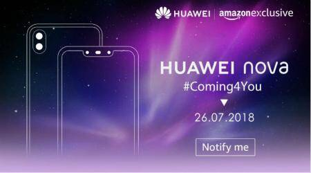 Huawei Nova 3, Nova 3i will be Amazon India exclusive, sale from July 26