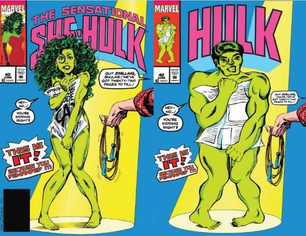 Hulk, she hulk, Marvel