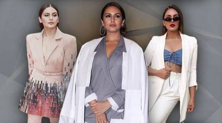 Huma Qureshi's funky take on pantsuits is refreshing
