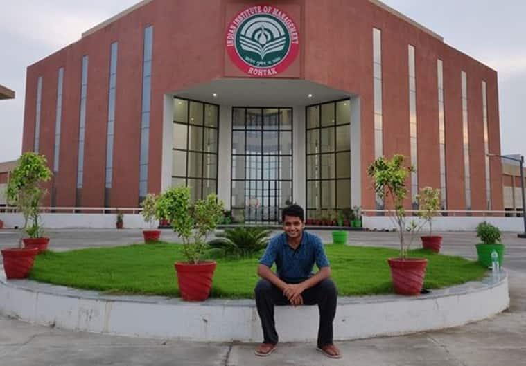 Indian Institute of Management-Rohtak, IIM Rohtak, CAT, Engineer, Shashank Agarwal