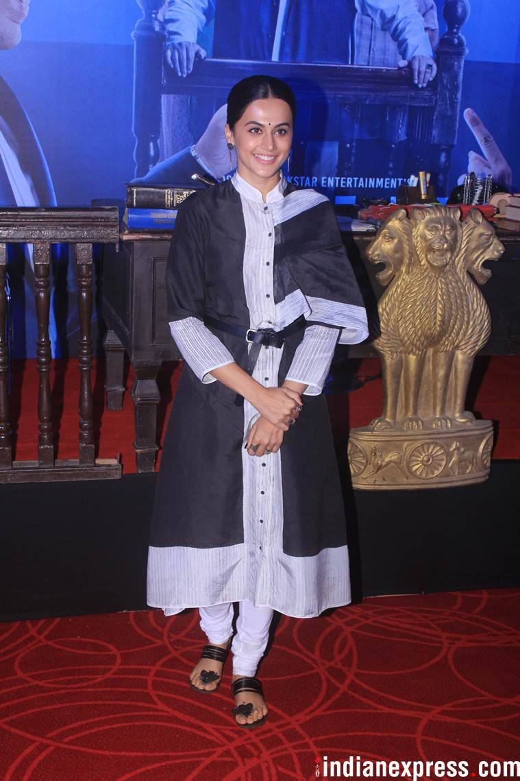 taapsee pannu mulk trailer launch