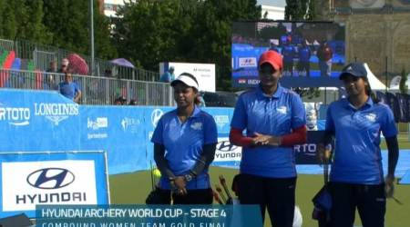 Indian women's compound archery team reach top ranking