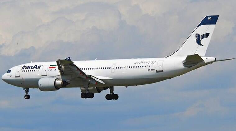 iran air flight diverted, iran air flight mumbai airport, iran air flight gets delayed, iran air pilot refuses to land, iran air flight bad weather, iran air