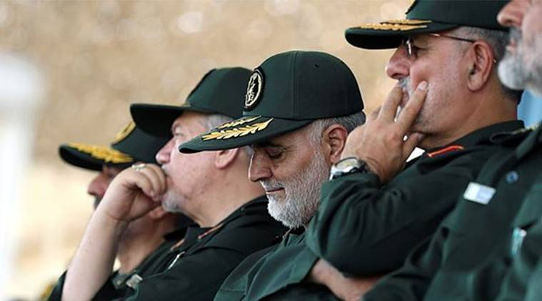 Major-General Qassem Soleimani, who heads the Quds Force of the Guards, were the latest salvo in a war of words between the two countries. (AP)