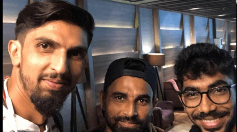 India vs England: Ishant Sharma, Jasprit Bumrah, Mohammed Shami fly to join squad; see pics