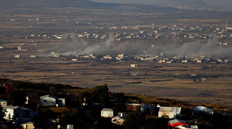 Syrian rebels and Iran reach deal to evacuate villages