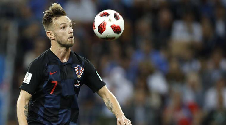FIFA World Cup 2018, FIFA World Cup final, Croatia vs France, Ivan Rakitic, sports news, football, Indian Express