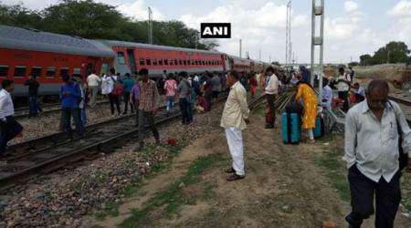Ajmer-Jammu Tawi Express derails near Jaipur; no casualty