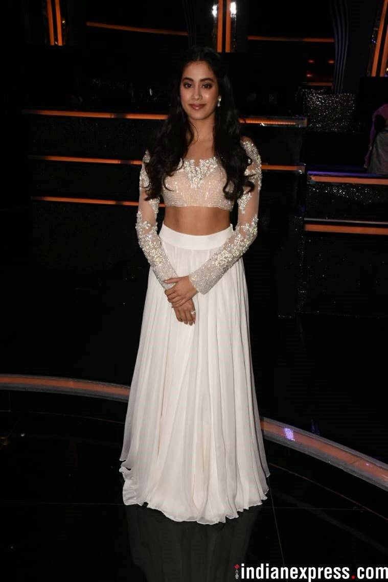 jahnvi kapoor, dhadak promotions, ishan khattar, madhuri dixit, janhvi kapoor dhadak, janhvi kapoor instagram, jahnvi kapoor latest look, indian express, indian express news
