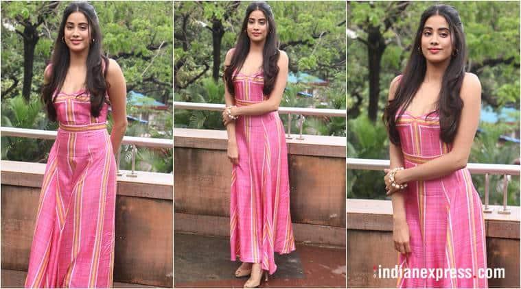 Janhvi Kapoor, Janhvi Kapoor latest photos, Janhvi Kapoor fashion, Janhvi Kapoor Dhadak dresses, Janhvi Kapoor maxi, Janhvi Kapoor Ishaan Khatter, indian express, indian express news