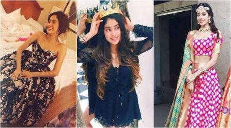 Before Dhadak, here are some rare photos of Janhvi Kapoor