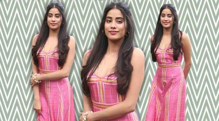 Janhvi Kapoor's perky pink maxi is what we need to make those summer brunches fashionable