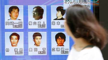 Japan executes six more members of doomsday cult behind sarin gas attack on Tokyo metro