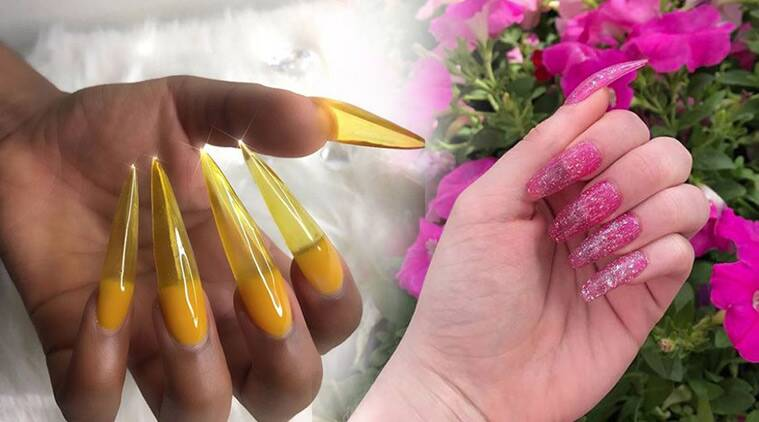 These 90s Jelly Shoes Inspired Colourful Nails Are The Latest